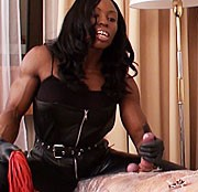 Folien Session mit Muskel Domina